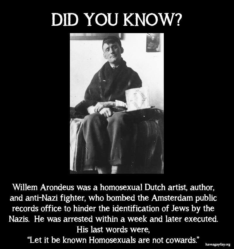 Willem Arondeus anti-Nazi fighter
