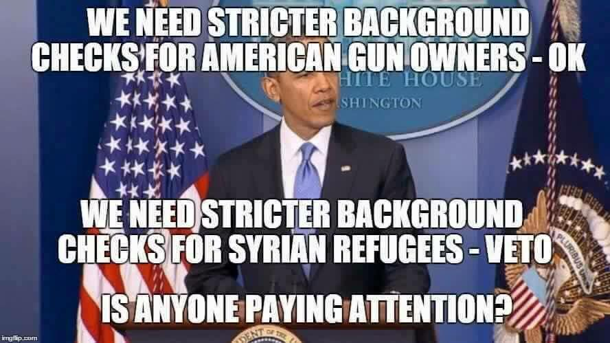 Obama's priorities for background checks