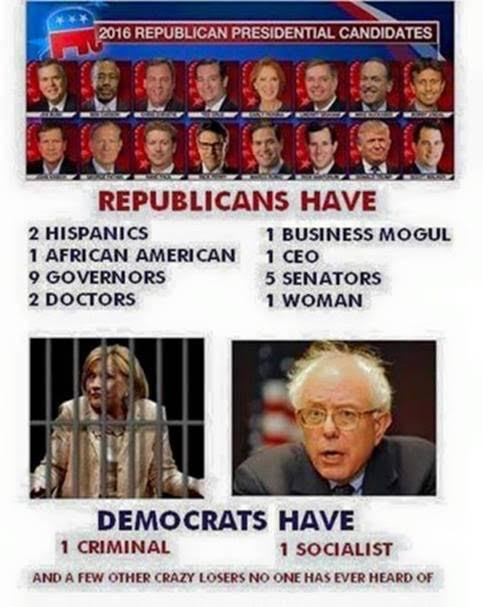 Republican diversity Democrat criminal crazy