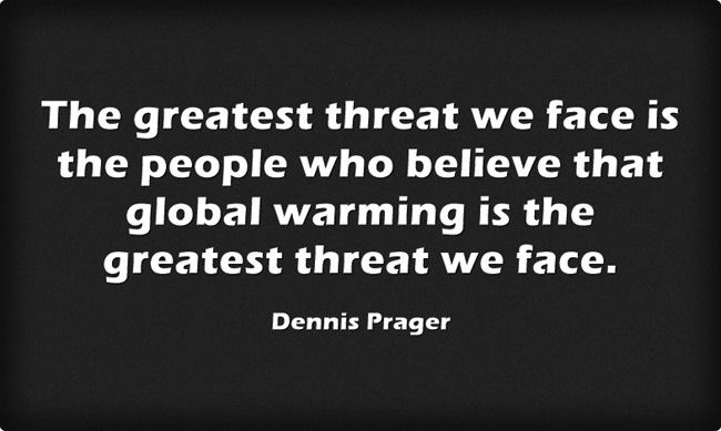 The threat of global warmists