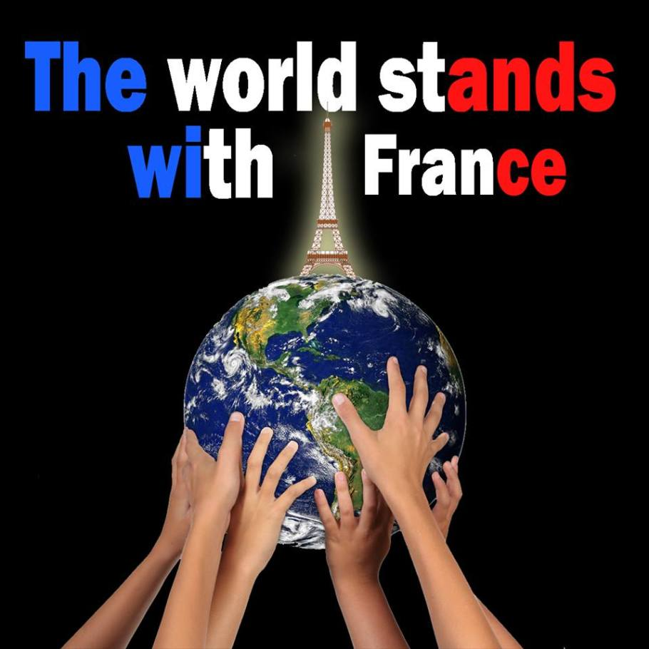 The world stands with France
