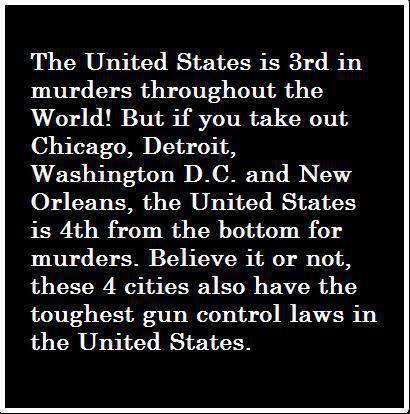Democrat cities gun control gun crime