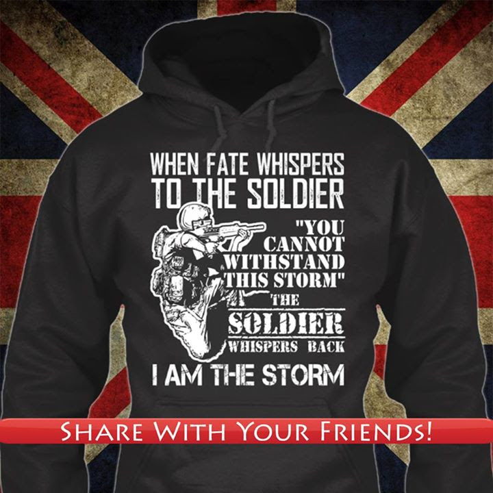 Soldier is the storm