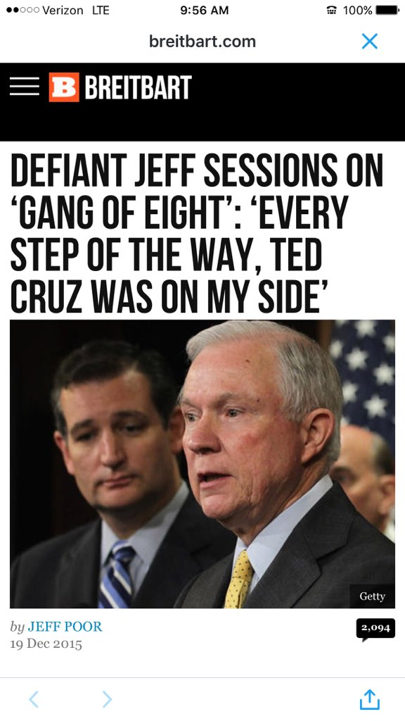 Ted Cruz Jeff Sessions