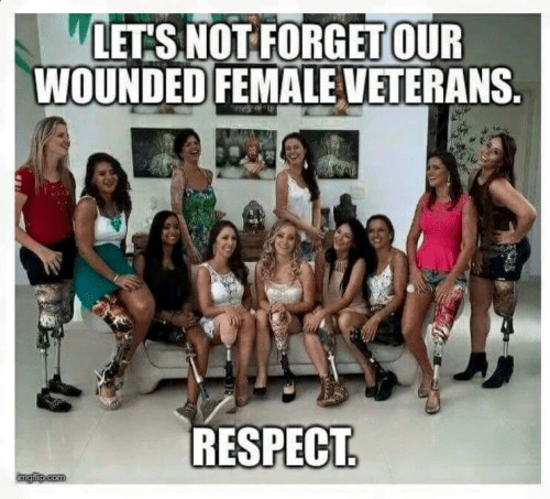 Wounded female veterans