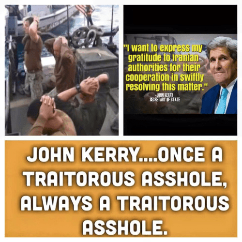 Kerry always a traitor