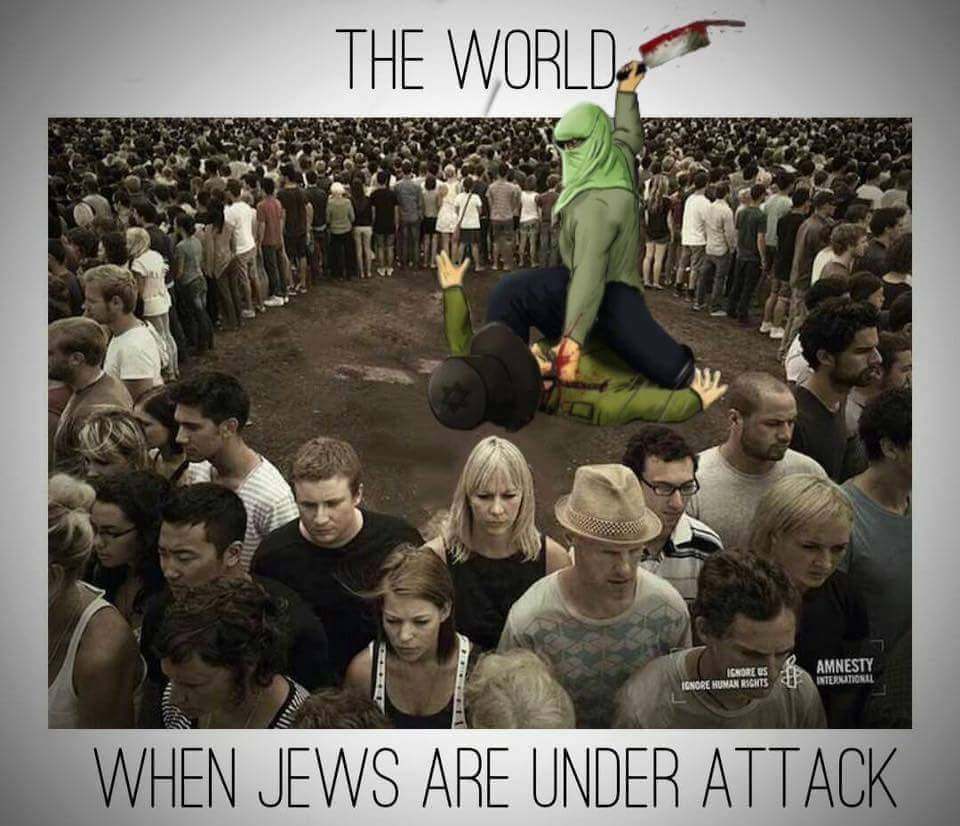 The world ignores Islamic terrorism in Israel