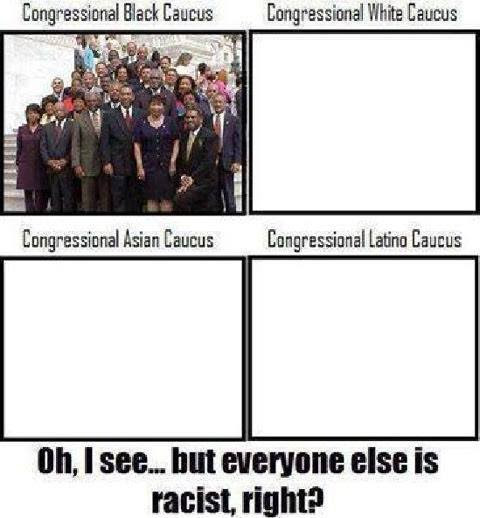 Black caucus and racism