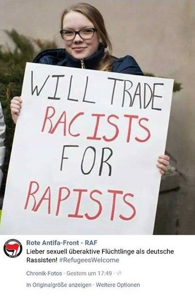 German woman for rapists