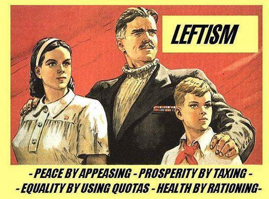Leftism is Orwellian