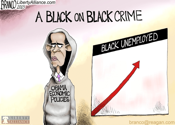 Obama and black unemployment