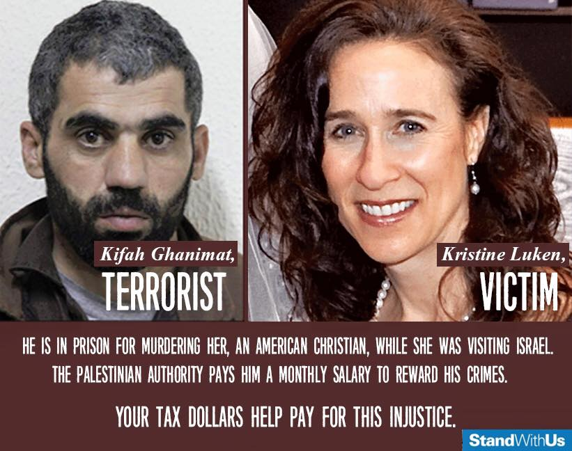 Palestinian terrorists paid by Palestine