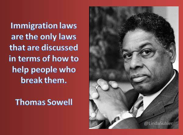 Thomas Sowell on immigration laws
