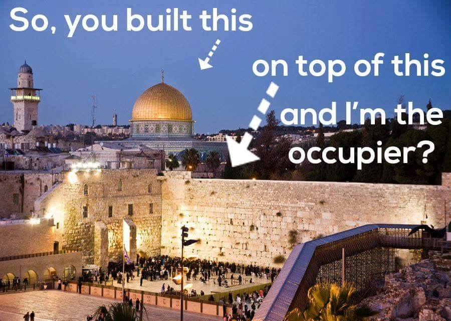Dome of Rock is occupier