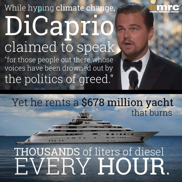 Leo DiCaprio hypocrite 2