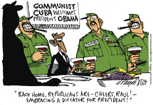 Obama Castro Cuba Dictators