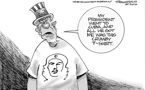 Obama Che Cuba