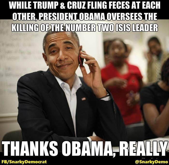 Obama kills ISIS leader
