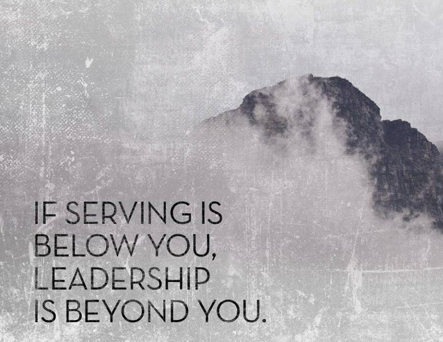 Serving and leadership