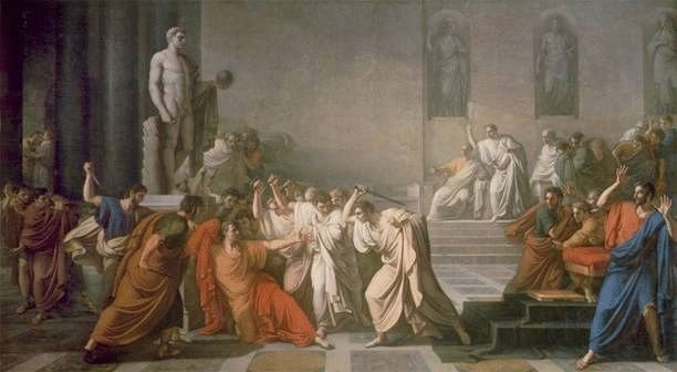 The Ides of March -- Caesar's death