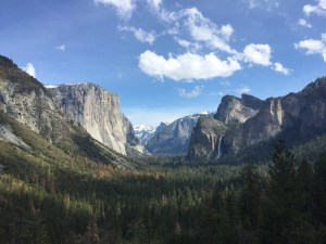 Yosemite view from The Tunnel