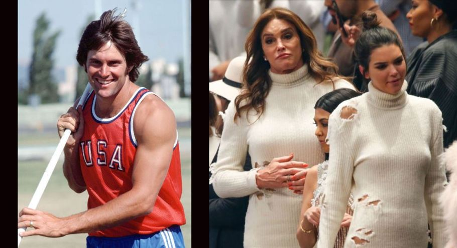 Bruce and Caitlin Jenner