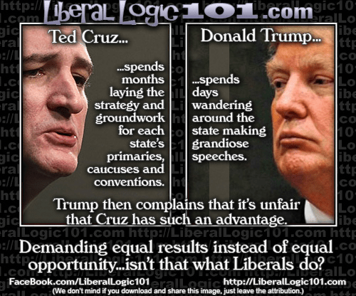 Cruz and Trump election strategies