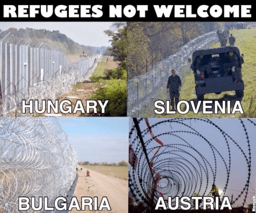 Europe Islam Muslim Refugee Slovenia Austria Hungary Bulgaria