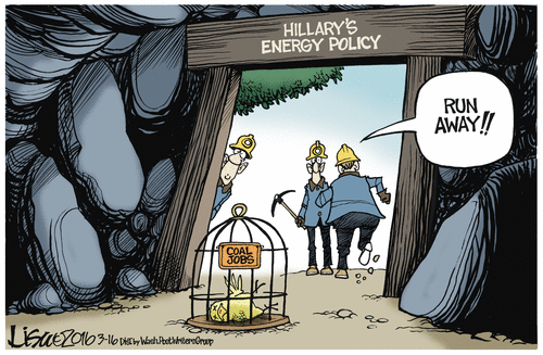 Hillary energy policy