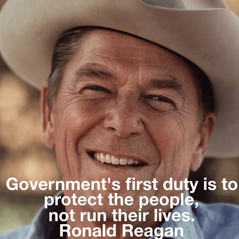 Reagan wisdom government