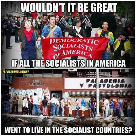 Stupid liberals socialist countries