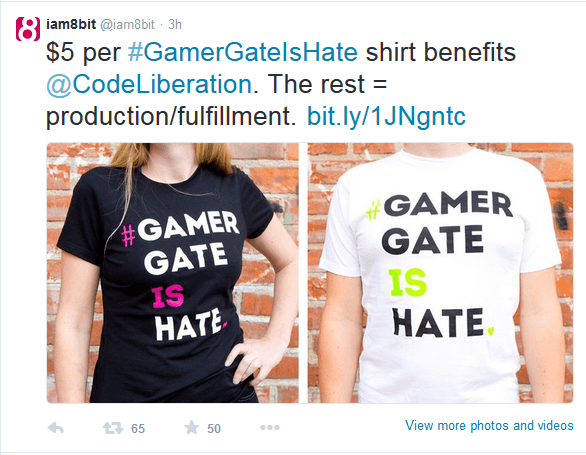 Gamergate shirt
