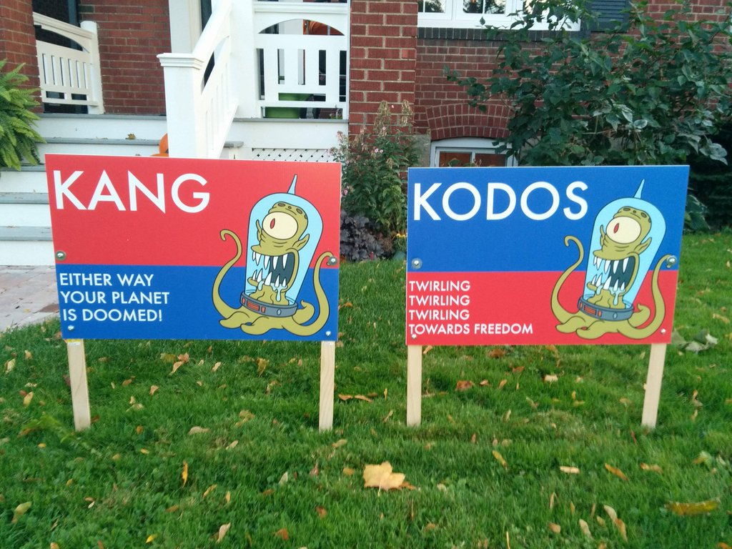Silly Kodos and Kang
