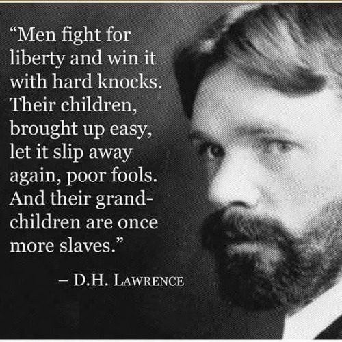 Wisdom three generations to slavery D H Lawrence