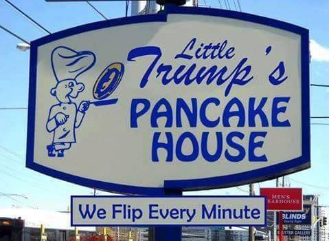 Trump Little Trump Pancake House