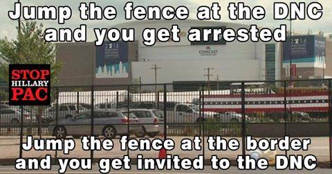 Democrats and fences