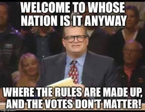 Hillary there are no rules and voters irrelevant