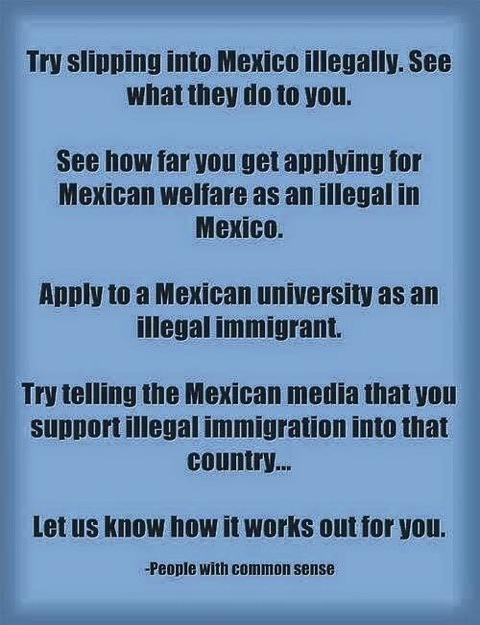 Immigration Mexican laws much more stringent