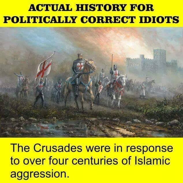 Islam Crusades were a response not a trigger