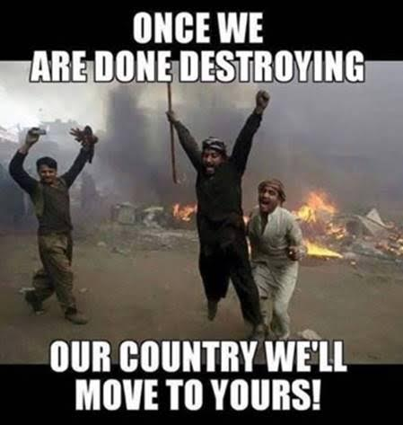Islam destroying countries coming to you