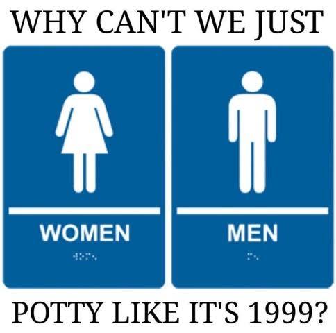 Gender Potty like it's 1999