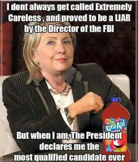 Hillary Obama supports despite criminal conduct