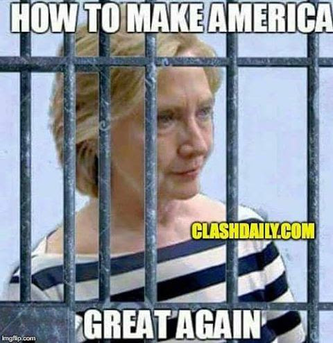 Hillary lock her up make America great
