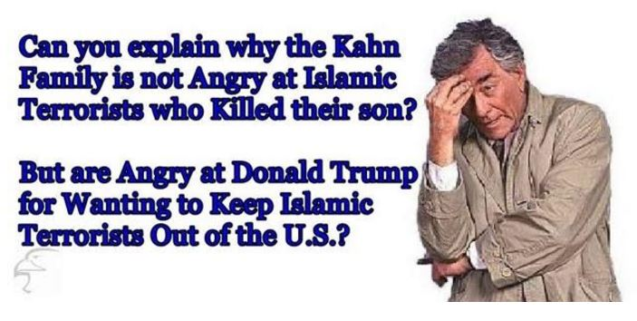 Islam Khan family anger at Trump not Islam