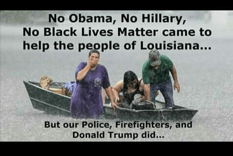 Stupid leftists didn't help in New Orleans
