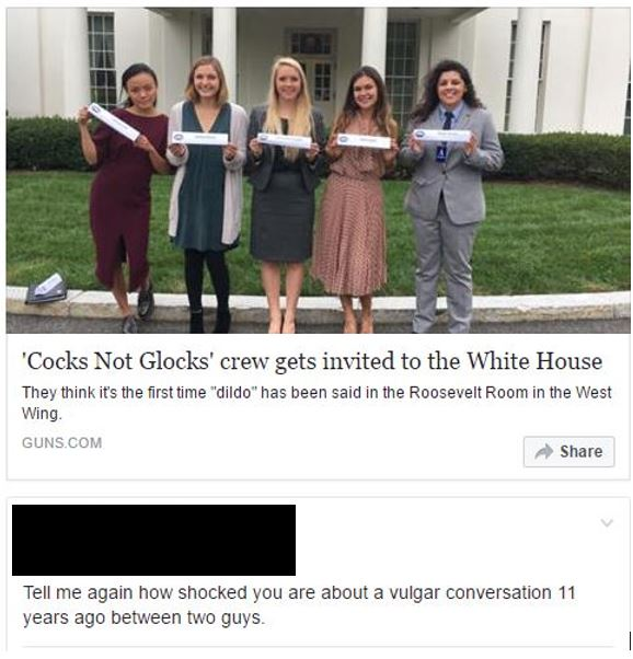 Cocks not glocks