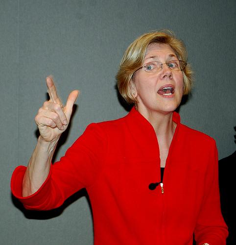 The Progressive's beloved Elizabeth Warren