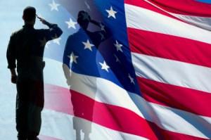 Hollywood patriotism flag