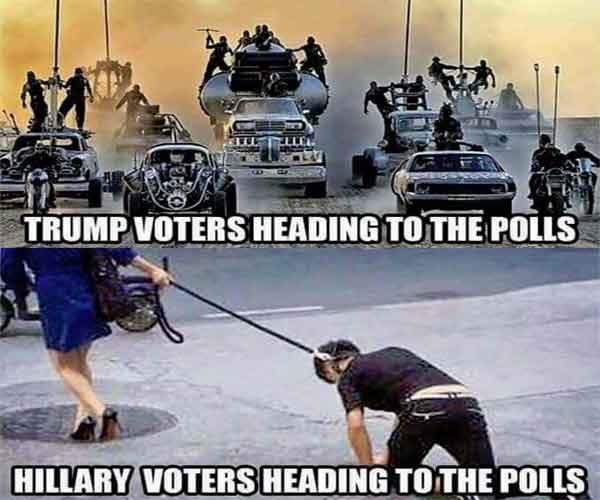 trump-versus-hillary-voters