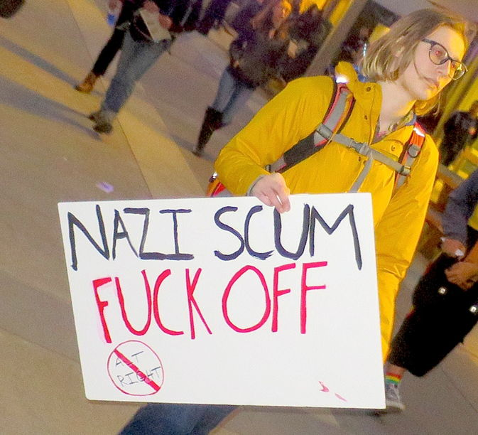 nazi-scum-fuck-off-sign-at-berkeley-riot